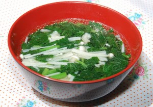 モロヘイヤのとろとろスープ