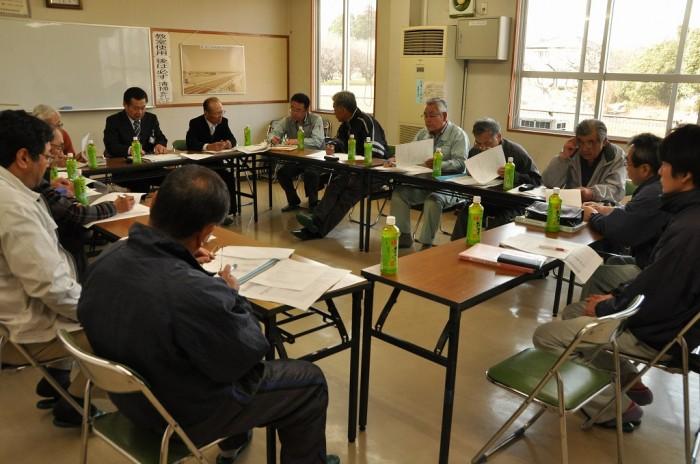 3月17日に行われた設立総会