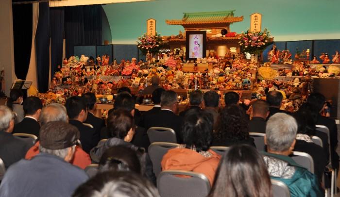 東水戸ホールでの供養祭