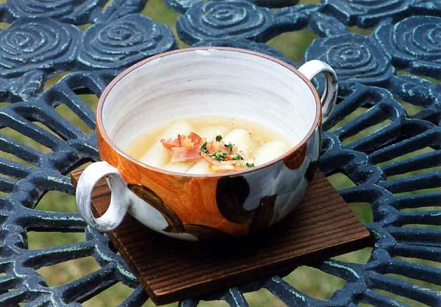 柔甘ねぎとベーコンのスープ