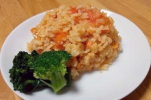 トマトの炊き込みご飯2