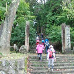 最後のチェックポイントの小松寺